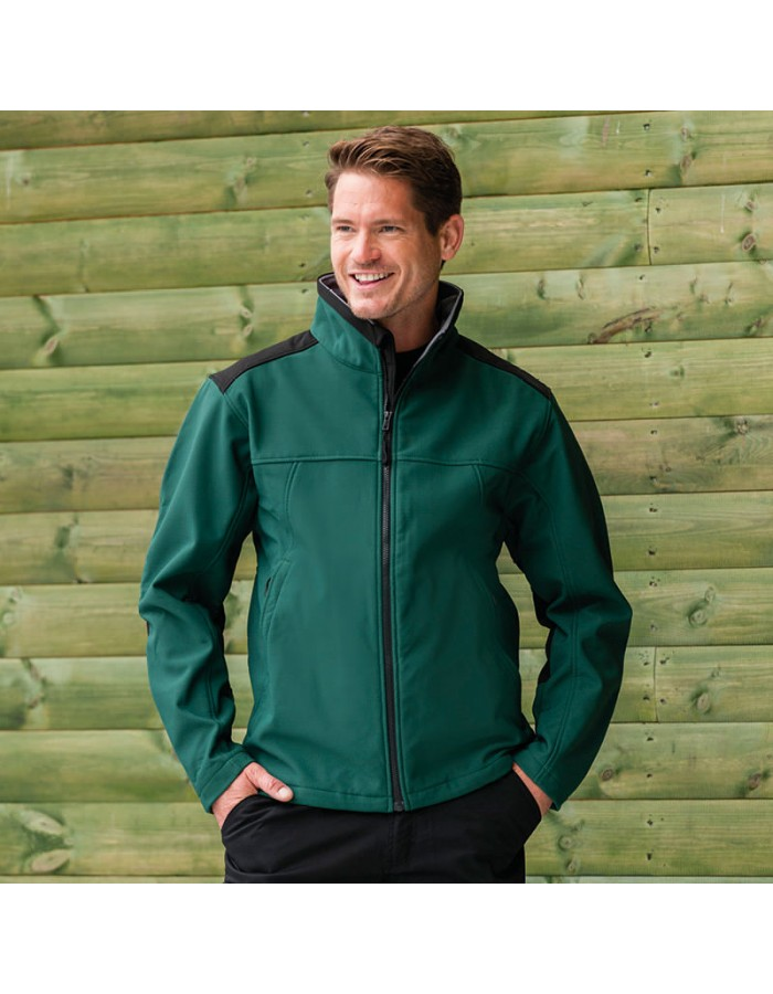 Plain Jacket Soft Shell Workwear Russell