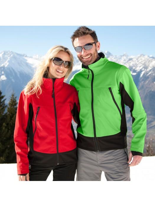 Plain Jacket Soft Shell Activity Result