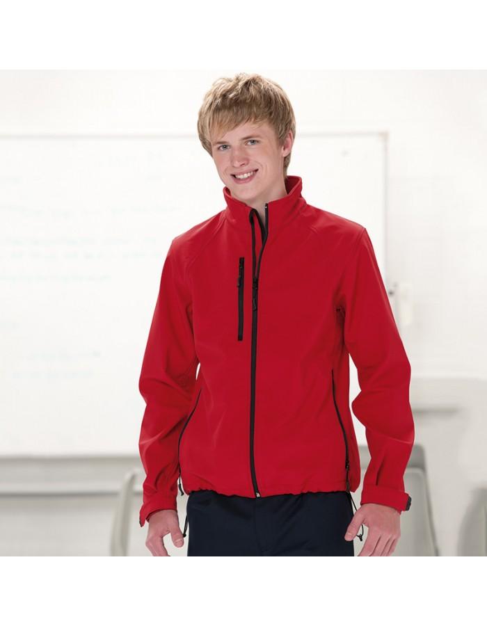 Plain Soft Shell Jacket Men Russell