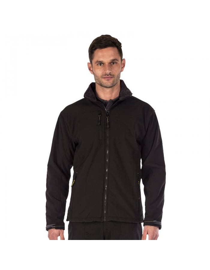 Plain Soft Shell Jacket Groundfort Regatta Hardwear