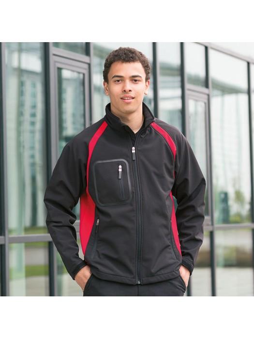 Plain Soft Shell Jacket Team Finden & Hales
