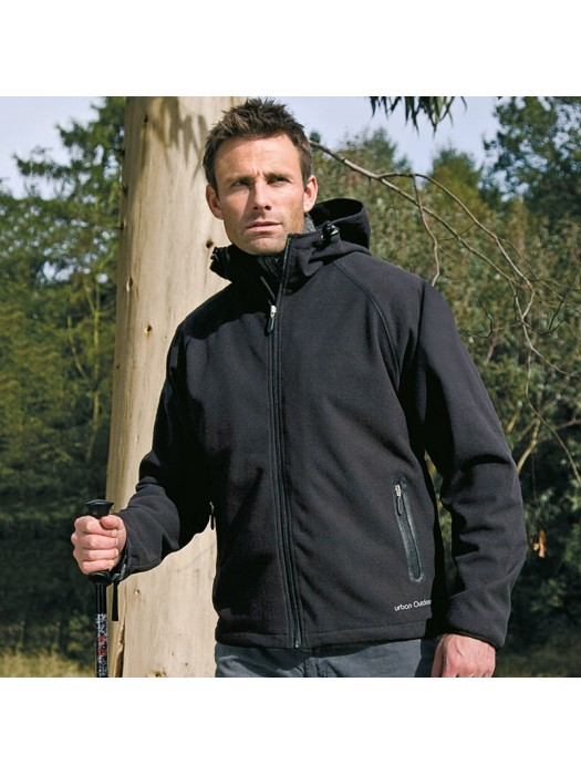 Plain Soft Shell Jacket Zorax Z-Tech Result