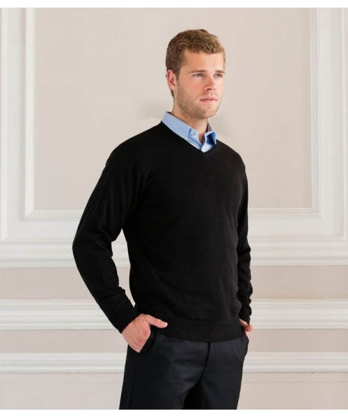 Plain Sweater Collection V Neck Russell 275gsm