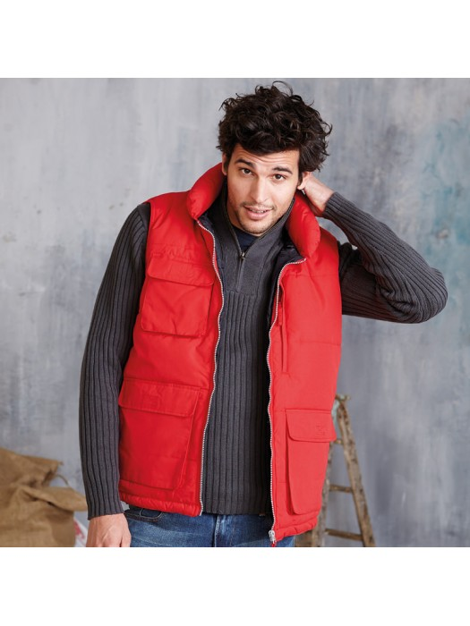 Plain Bodywarmer Quilted Kariban