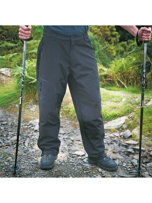 Plain Soft Shell Trousers TECH Performance Result