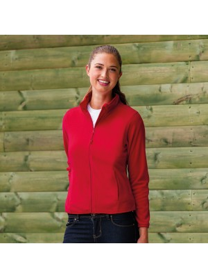 Plain Micro Fleece Jacket Ladies Russell 190 GSM
