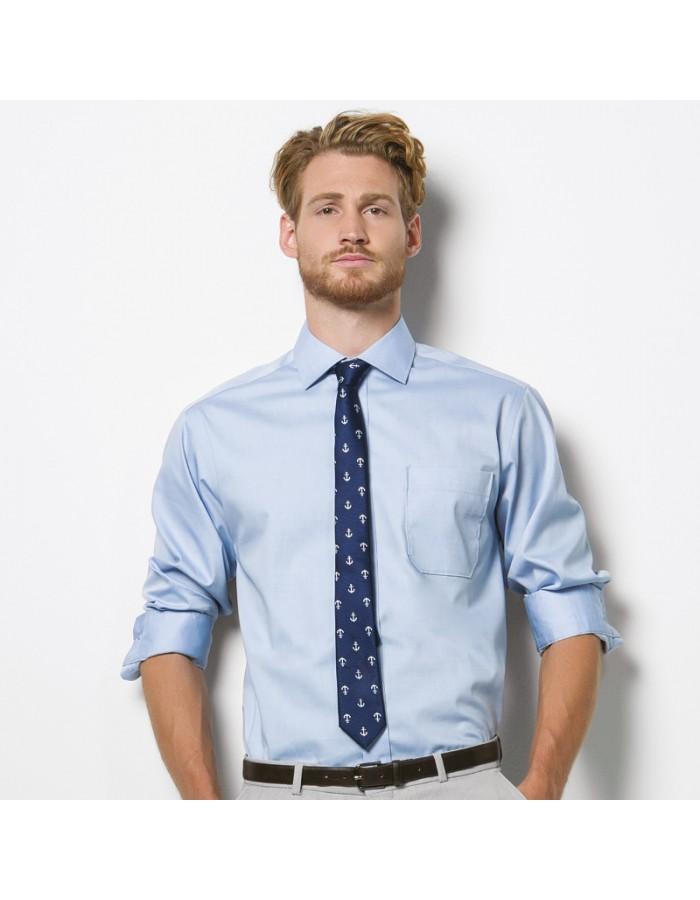 Plain Oxford Shirt Executive Premium Kustom Kit 125 GSM