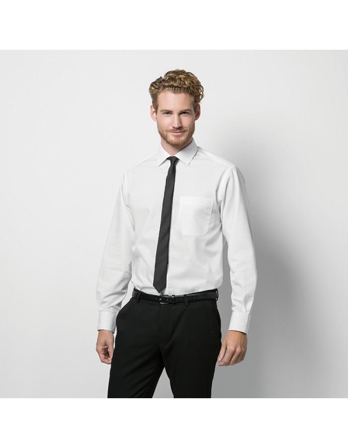 Plain Corporate Shirt Premium Non-Iron Kustom Kit 125 GSM
