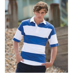 Plain Rugby Shirt Short Sleeve Front Row 300 GSM