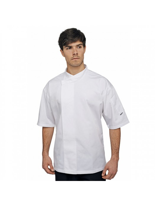 Plain tunic Short sleeve academy Le Chef 215 GSM