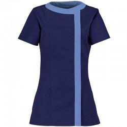 Plain asymmetric tunic Women's Alexandra 195 GSM