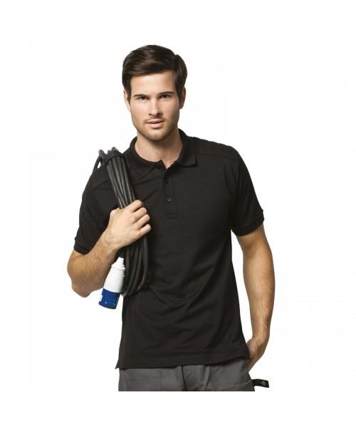 Plain Polo Shirt Shoulder Patch Kustom Kit 180 GSM