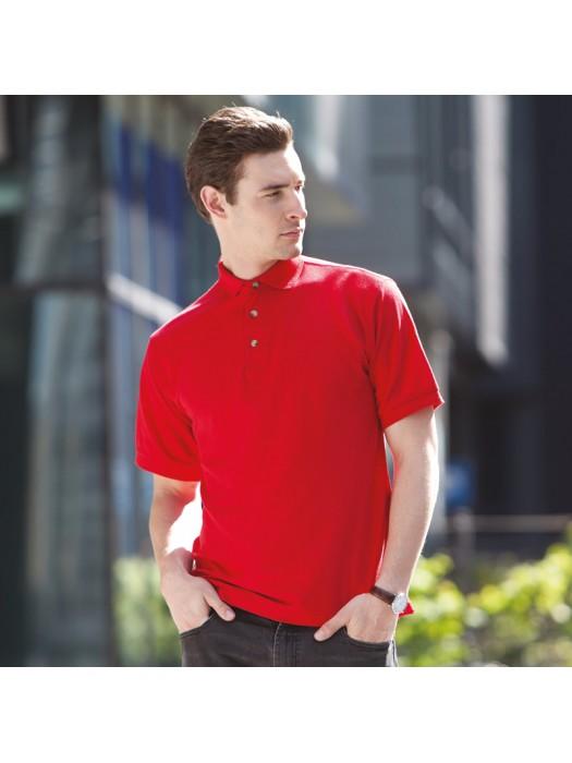 Plain Polo Shirt Ultimate Heavy Pique Henbury 250 GSM