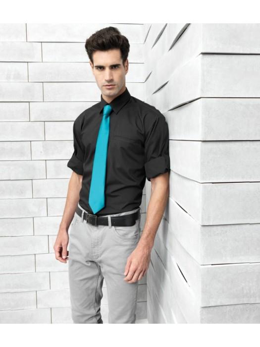 Plain Poplin Shirt Roll Sleeve Premier 105 gsm GSM