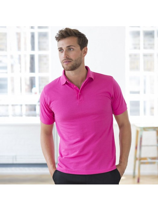 Plain Polo Shirt Heavy Pique Henbury 200 GSM