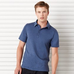Plain Polo Shirt Jersey 5 Button Canvas 130 GSM