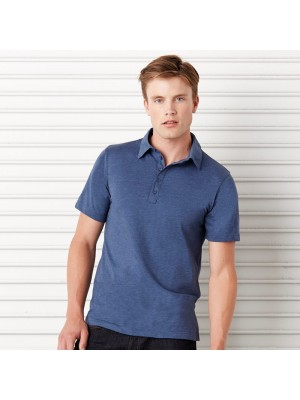 Plain Polo Shirt Jersey 5 Button Canvas 130 GSM