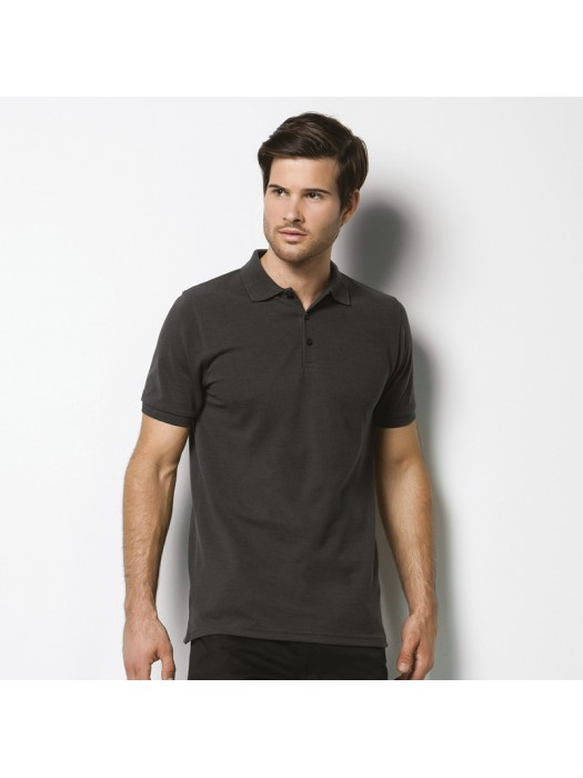 Plain Polo Shirt Klassic Heavy Slim Fit Pique Kustom Kit 220 GSM