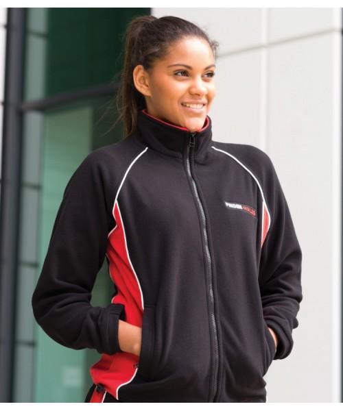 Plain Microfleece Jacket Ladies Contrast Finden & Hales 280 GSM
