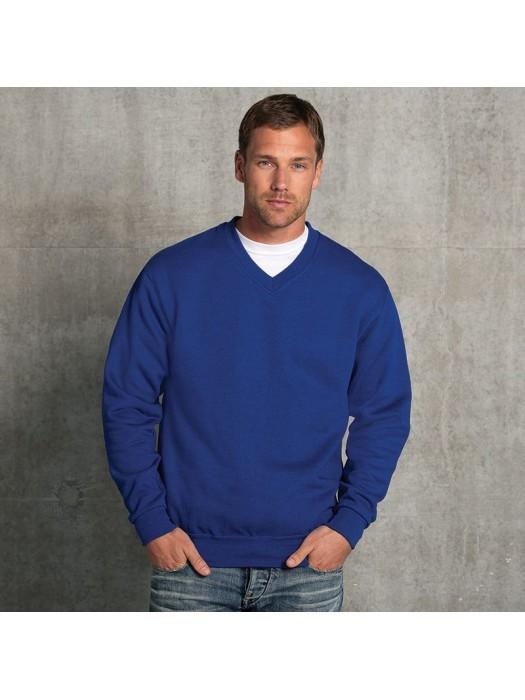 Plain Sweatshirt V Neck Russell 295 GSM