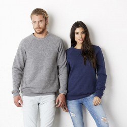 Plain Sweatshirt Unisex Triblend Canvas 280 GSM