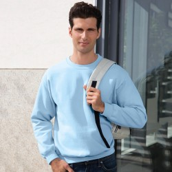 Plain Sweatshirt Heavy Blend Gildan White 265 gsm Cols 280 GSM