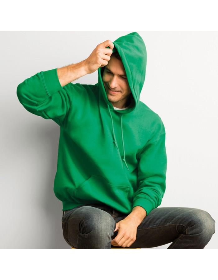 Plain Sweatshirt DryBlend Hooded Gildan White 305 gsm Colours 325 GSM