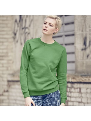 Plain Sweatshirt Ladies Fashion Drop Shoulder Anvil 245 GSM