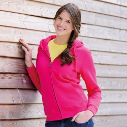 Russell Women's Authentic Zipped Hooded Sweatshirt 280 GSM