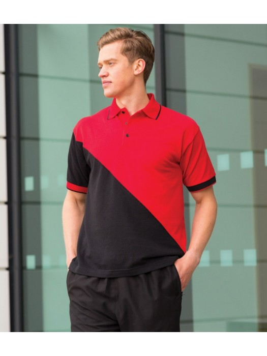 Plain Polo Shirt Team Pique Finden & Hales 225 GSM