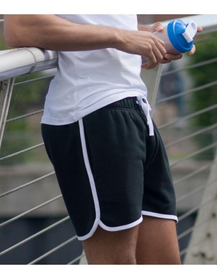 Plain Shorts Men Retro Skinnifit 250 GSM