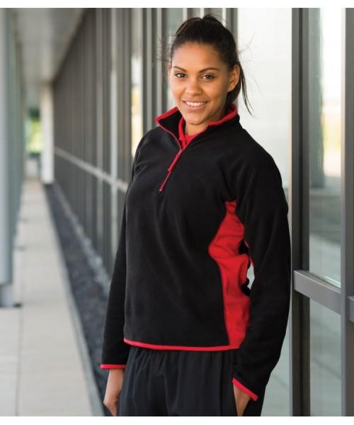 Plain Microfleece Jacket Ladies Lightweight Finden & Hales 280 GSM