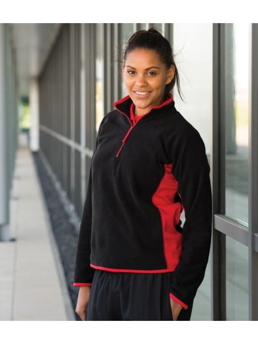 Plain Microfleece Jacket Ladies Lightweight Finden & Hales 280 gsm GSM