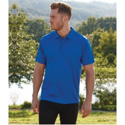 Plain Polo Shirt Performance Fruit of the Loom 140 GSM