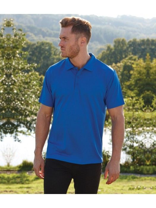 Plain Polo Shirt Performance Fruit of the Loom 140 gsm GSM