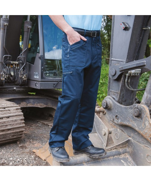 Plain Trousers Workwear Utility Rty 260 GSM