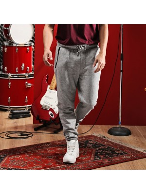 Plain brush fleece jog pants Anarchy Brave Soul 280 GSM