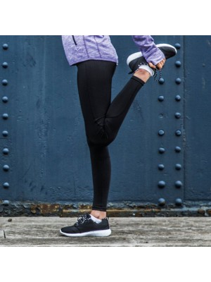 Plain running legging Women's TOMBO 170 GSM