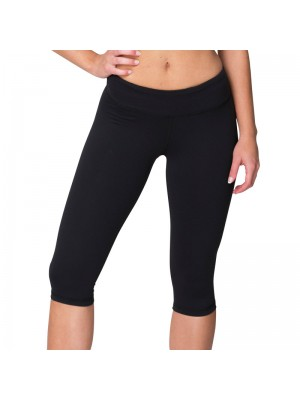 Plain fitness pants Knee length American Apparel