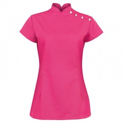 Plain beauty tunic stand collar Alexandra 195 GSM