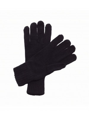 Plain Gloves Knitted Regatta