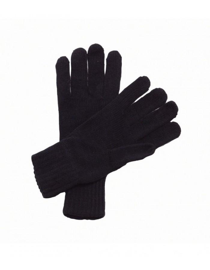 Plain Gloves Knitted Regatta