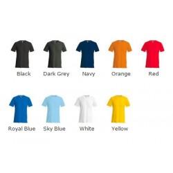 Kariban Short sleeve crew neck slim fit t-shirt