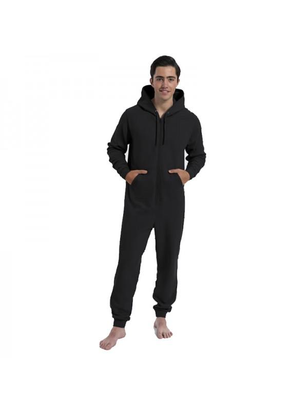 Plain mens and ladies onesies 280 gsm for Mens dress shirt onesie