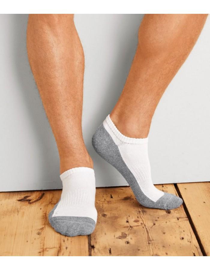Plain Socks No Show Gildan