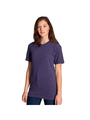 Unisex short sleeve tshirt poly cotton