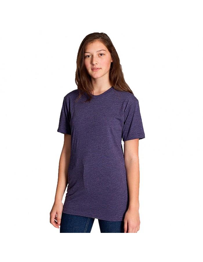 Unisex short sleeve tshirt poly cotton