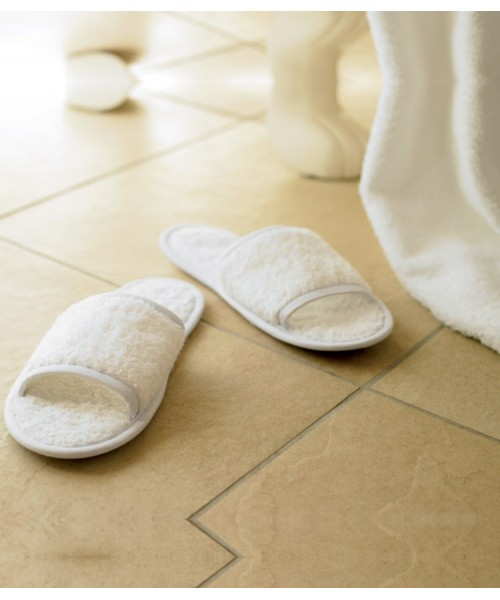 Plain Slippers Classic Terry Towel City 400 GSM