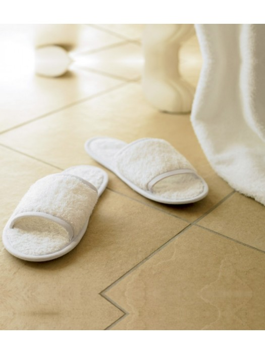 Plain Slippers Classic Terry Towel City 400 gsm GSM