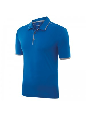 Plain Climachill bonded solid polo Adidas 200 GSM